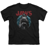 Youth: Jaws- Water Circle Shirt