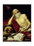 St. Jerome, 1643 Giclee Print by Antonio Pereda y Salgado