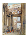 Soldiers in the Ruins of the Tuileries, 7th July 1871 Giclee Print by Isidore Pils