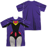 Teen Titans Go- Raven Uniform (Front/Back Print) T-Shirt
