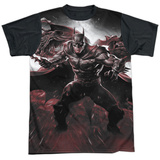 Infinite Crisis- IC Batman Black Back T-Shirt