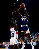 David Thompson 1977 Action Photo