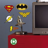 DC Superhero Logos Peel And Stick Giant Wall Decals Wall Decal