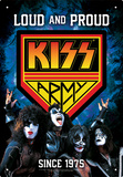 KISS Army Tin Sign