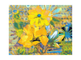 Yellow Flora Photographic Print by Ricki Mountain