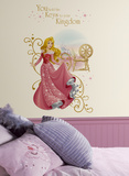 Disney Princess Sleeping Beauty Peel And Stick Giant Wall Graphic Vinilo decorativo