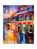 Bourbon Street Red Photographic Print by Diane Millsap