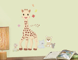 Sophie La Giraffe Peel And Stick Wall Decals Autocollant mural