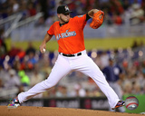 Jose Fernandez 2015 Action Photo