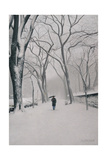 Fifth Avenue Snow, 2013 Giclee Print by Max Ferguson