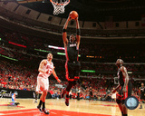 Chris Bosh 2010-11 Playoff Action Photo