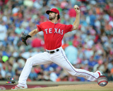 Cole Hamels 2015 Action Photo
