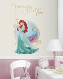 Disney Princess Ariel Peel And Stick Giant Wall Graphic Muursticker