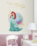 Disney Princess Ariel Peel And Stick Giant Wall Graphic Wall Decal