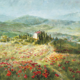 Summer in Provence Art by Danhui Nai
