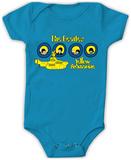 Infant: The Beatles- Yellow Submarine Onesie Rompertje