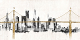 Bridge and Skyline Posters by Avery Tillmon