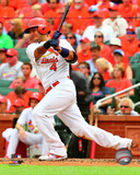 Yadier Molina 2015 Action Photo