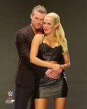 Dolph Ziggler & Lana 2014 Posed Photo