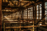 Abandoned Power Plant Interior Photographic Print by Nathan Wright