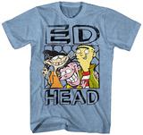 Ed, Edd n Eddy- Ed Head T-shirts