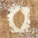 Gilded Leaf II Print by Avery Tillmon