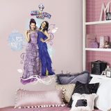 Disney Descendants Mal And Evie Peel And Stick Wall Graphic Wall Decal