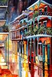 Sparkling French Quarter Fotodruck von Diane Millsap