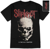 Slipknot- Skull and Tribal (Front/Back) T-Shirts