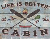 Cabin Fever I Art by Janelle Penner