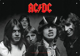 AC/DC - Highway To Hell Cartel de chapa