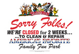 Walley World - Sorry Folks Tin Sign