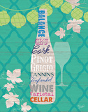 Summer Wine Celebration IV Posters by  Studio Bella