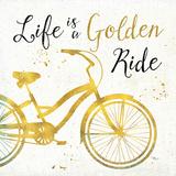 Golden Ride I Prints by Pela Studio