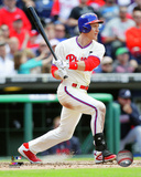 Chase Utley 2015 Action Photo