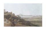 View from Tessa Aurunca, 1784 Giclee Print by Francis Towne