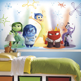 Inside Out Xl Chair Rail Prepasted Mural Wallpaper Mural