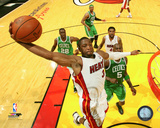 Dwayne Wade 2011-12 Playoff Action Photo