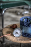 Medical Pressure Gauge Photographic Print by Nathan Wright