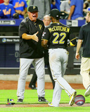 Clint Hurdle 2015 Action Photo