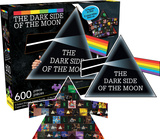 Pink Floyd Dark Side 2-Sided 600 Piece Puzzle Jigsaw Puzzle