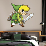 Zelda: Spirit Tracks Peel And Stick Giant Wall Decals Autocollant mural