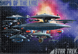 Star Trek - Ships Of The Line 1500 Piece Puzzle Jigsaw Puzzle