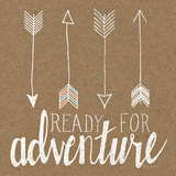 Ready for Adventure Art by Laura Marshall