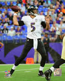 Joe Flacco 2015 Action Photo