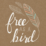 Free as a Bird Art by Laura Marshall