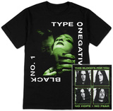 Type O Negative- Black 1 (Front/Back) T-skjorte