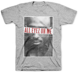 Tupac- All Eyez On Me Tシャツ