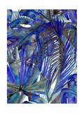 Cobalt Palm I Photographic Print by Ricki Mountain