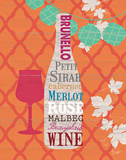 Summer Wine Celebration I Print by  Studio Bella